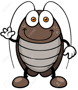 30147740-Vector-illustration-of-cartoon-cockroach-Stock-Vector