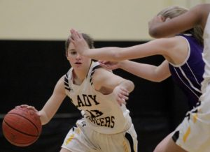 Sarah Karpell pushed the pace to make this a easy one for SJV