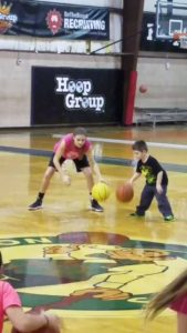 Big sister Ally from Staten Island shows little brother how it's done..LOVE IT!