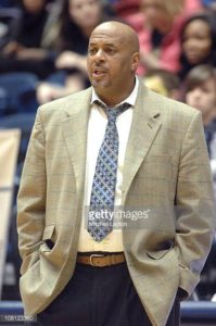 Former George Washington Head Coach Mike Bozeman
