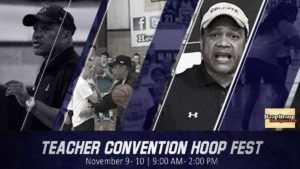Sign up here http://hoopgroup.com/hoop-group-headquarters/new-jersey-basketball-clinics/teacher-convention-hoop-fest/