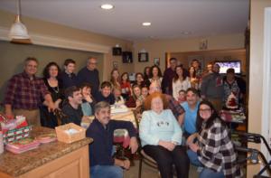 ONE BIG HAPPY GREEK FAMILY